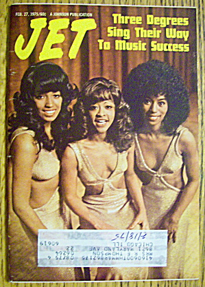 Jet Magazine February 27, 1975 Three Degrees