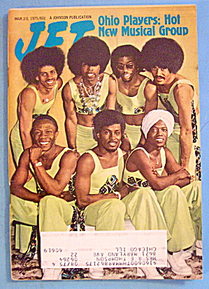 Jet Magazine March 20, 1975 Hot New Group: Ohio Players