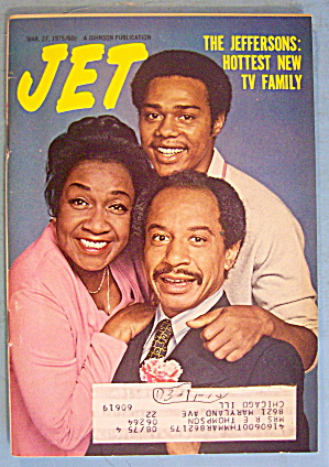 Jet Magazine March 27, 1975 TV Family: The Jeffersons (Image1)