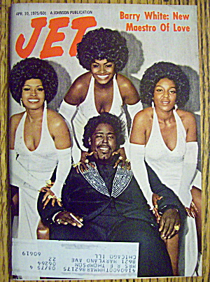 Jet Magazine April 10, 1975 Barry White: New Maestro
