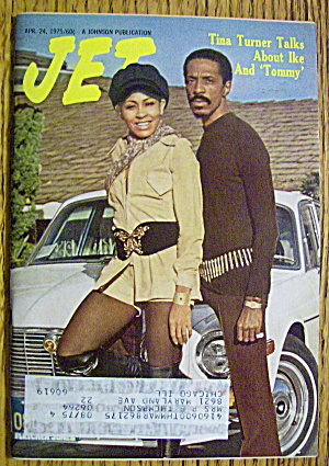 Jet Magazine April 24, 1975 Ike & Tina Turner