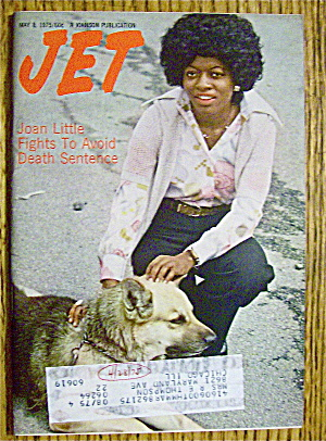 Jet Magazine May 8, 1975 Joan Little Fights Death