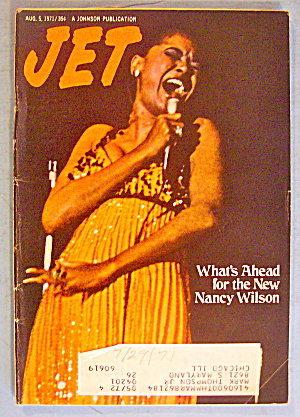 Jet Magazine August 5, 1971 New Nancy Wilson
