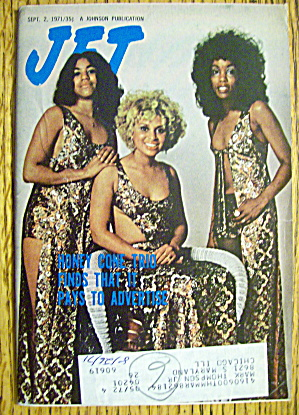 Jet Magazine September 2, 1971 Honey Cone Trio