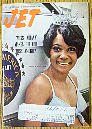 Jet Magazine September 9, 1971 Miss Indiana