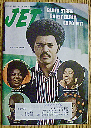 Jet Magazine September 23, 1971 Reverend Jesse Jackson