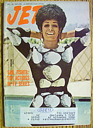 Jet Magazine December 16, 1971 Actress Gail Fisher