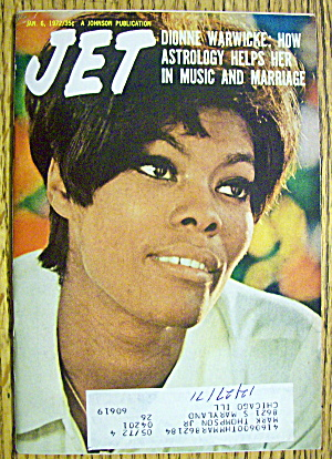 Jet Magazine January 6, 1972 Dionne Warwicke