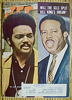 Jet Magazine January 13, 1972 Reverend Jesse Jackson