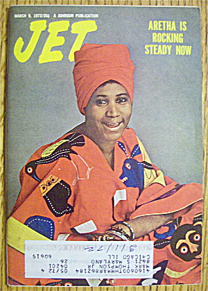 Jet Magazine March 9, 1972 Aretha Franklin Is Rocking