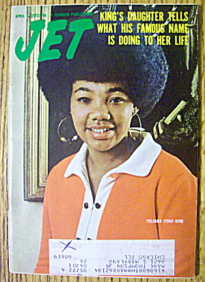 Jet Magazine April 6, 1972 King's Daughter Yolanda King