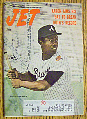 Jet Magazine April 13, 1972 Hank Aaron