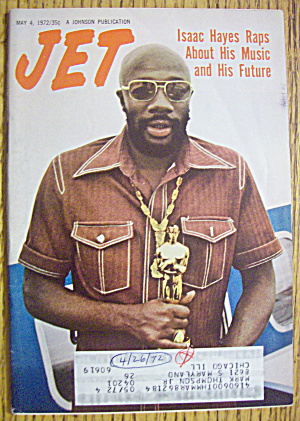 Jet Magazine May 4, 1972 Isaac Hayes