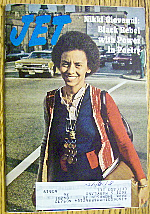 Jet Magazine May 25, 1972 Nikki Giovanni