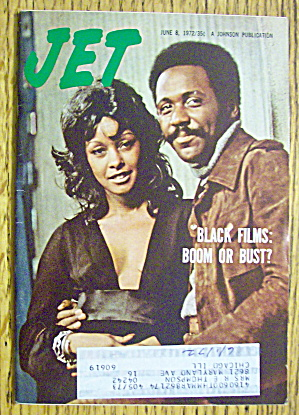 Jet Magazine June 8, 1972 Black Films: Boom Or Bust