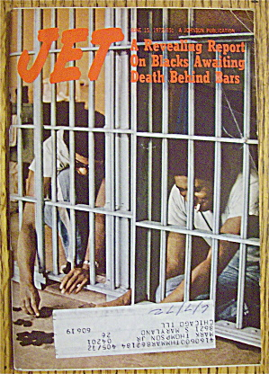 Jet Magazine June 15, 1972 Death Behind Bars