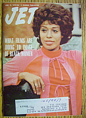 Jet Magazine June 29, 1972 Black Women In Films