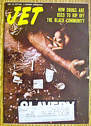 Jet Magazine August 10, 1972 Drugs & Slavery