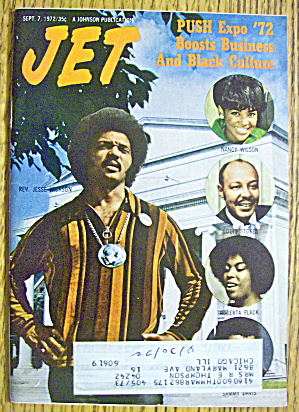 Jet Magazine September 7, 1972 Reverend Jesse Jackson