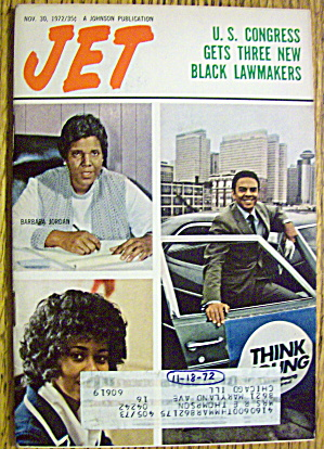 Jet Magazine November 30, 1972 Black Lawmakers