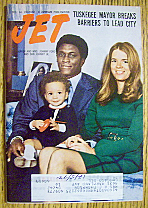 Jet Magazine December 14, 1972 Johnny Ford & Family
