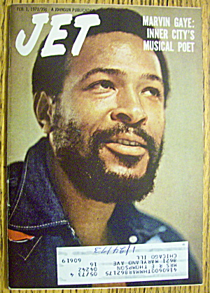 Jet Magazine February 1, 1973 Marvin Gaye: Musical Poet