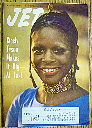 Jet Magazine March 15, 1973 Cicely Tyson