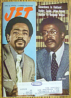 Jet Magazine April 12, 1973 Bobby Seale & Otho Green
