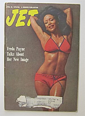 Jet Magazine April 26, 1973 Freda Payne Talks