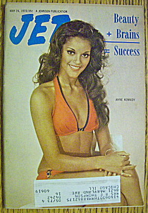 Jet Magazine May 24, 1973 Jayne Kennedy