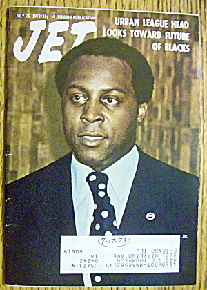 Jet Magazine July 26, 1973 Urban League
