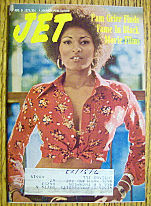 Jet Magazine August 9, 1973 Pam Grier Finds Fame