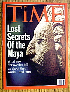 Time Magazine-august 9, 1993-lost Secrets Of The Maya