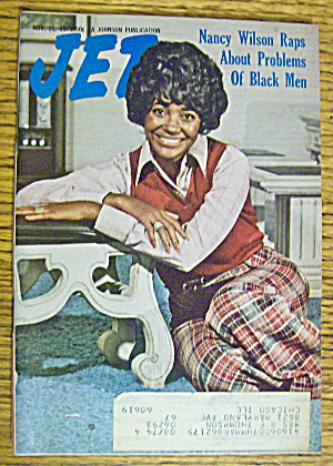 Jet Magazine November 15, 1973 Nancy Wilson