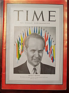 Time Magazine - January 19, 1942 - Aranha Cover (Image1)