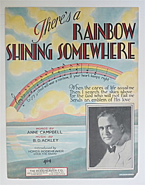 1930 There's A Rainbow Shining Somewhere