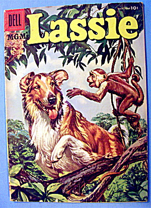 Lassie Comic #28 May 1956 Trouble On The River (Image1)