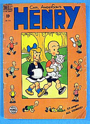 Carl Anderson's Henry Comic #11 January 1950