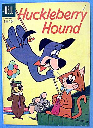 Huckleberry Hound Comic #7 September 1960 Beach Bound (Image1)