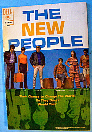 Dell Comics The New People Comic May 1970