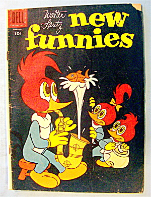 Walter Lantz New Funnies Comic #228 February 1956 (Image1)