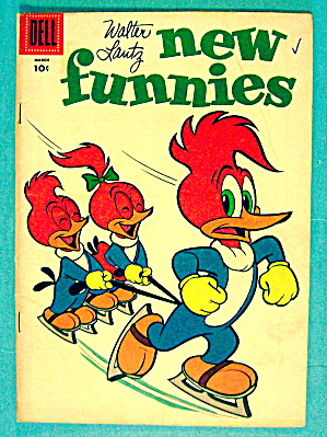 Walter Lantz New Funnies #229 March 1956 Woody