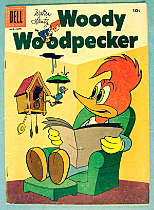 Walter Lantz Woody Woodpecker Comic #38 August 1956 (Image1)