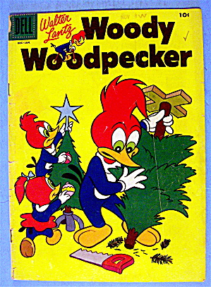 Woody Woodpecker Comic #34 December 1956 Duck Catcher (Image1)