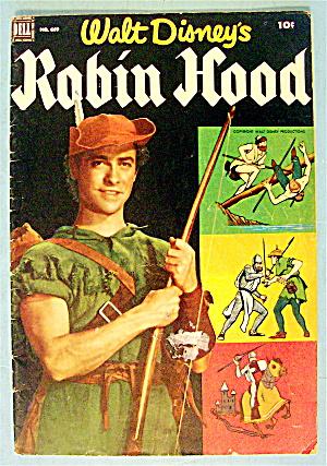 Robin Hood Comic #669 December 1955 (Image1)