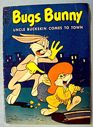 Bugs Bunny Comic #366 December 1951 Uncle Buckskin