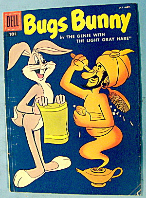 Bugs Bunny Comic #57 October 1957 Genie & Gray Hare (Image1)