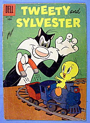 Tweety And Sylvester Comic #14 September-November 1956 (Image1)