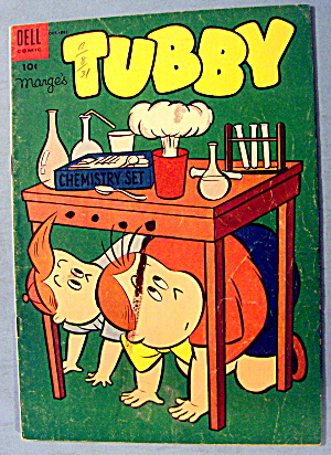 Tubby Comic #10 October 1954 The Stamp Collector