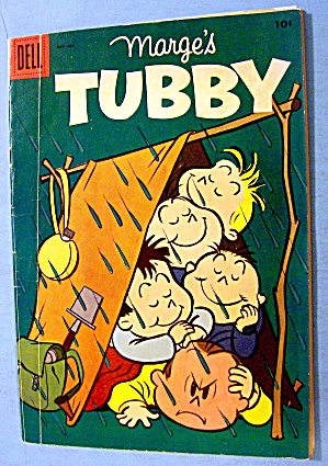 Tubby Comic #14 October 1955 The Flying Rowboat (Image1)